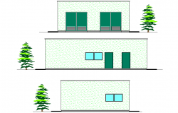 Elevation Building transformation plan detail