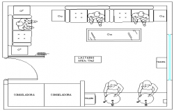Elevation Plan of Room for Feeding for Mothers dwg file