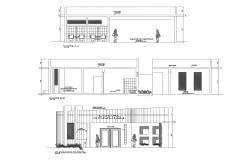 Modern Office Design In AutoCAD File