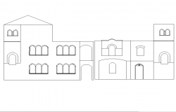 Elevation front side design