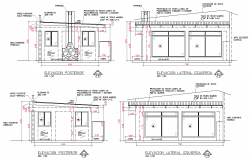 Elevation game room plan layout file