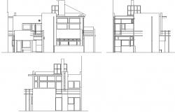 Elevation house plan detail