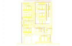 Elevation of doors