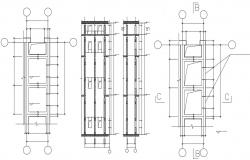 Elevator Design AutoCAD Drawing Download