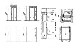 Elevator Design CAD Drawing Free Download