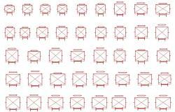 Elevator Lift Elevation Design 2d AutoCAD File Free Download