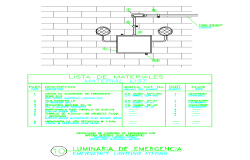 Emergency lighting fitting