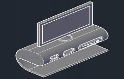 Entertainment console