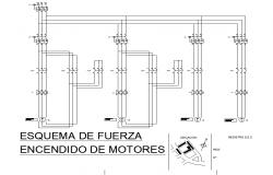 Equipment detail of mechanical dwg file