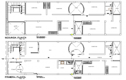 Extension of a multi housing of 13958m2 autocad file