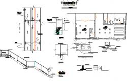 Extreme entertainment center constructive details dwg file