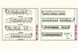 Factory Elevation detail DWG file