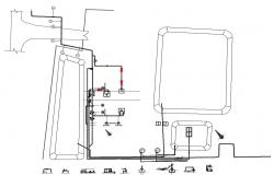 Factory Mechanical CAD Drawing