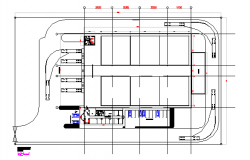 Factory layout plan details