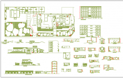 Faculty of architecture and planning dwg file