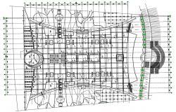 False Ceiling Building Electrical Layout Plan