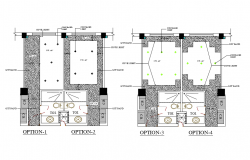 Interior Design In DWG File