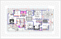 Family House plan design