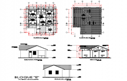 Family house planning layout file