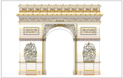 Famous architecture work of gate