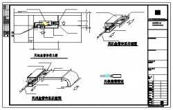 Fan coil installation diagram detail design drawing