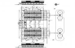 Farm area CAD plan drawing