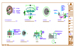 Figure of each node design drawing
