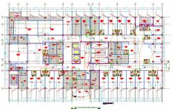 Fire Alarm System Layout Plan CAD File
