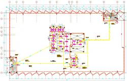 Fire Alarm and Lighting Design Layout Plan Download