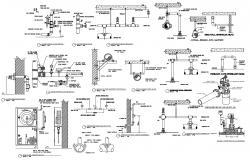 Fire Hose Cabinet Detail Dwg
