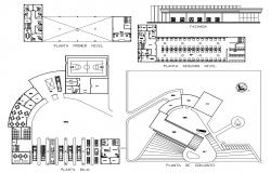 Fire Station Plan AutoCAD File