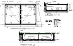 Fire hydrant system design  in AutoCAD file
