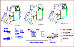 Fire fighting installation system  plumbing view for school dwg file