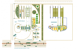 Fire station plan detail dwg file