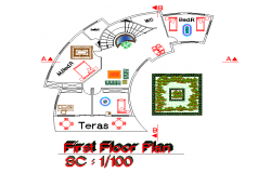First floor plan details