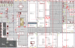 Five star hotel project architecture structure details dwg file