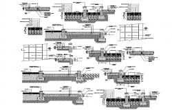 Floor AutoCAD Section Drawing Download