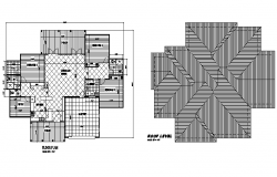 Floor and roof plan layout file