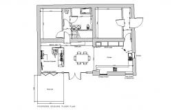 Floor plan of Apartment in dwg file