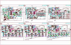Floor plan of hospital dwg file