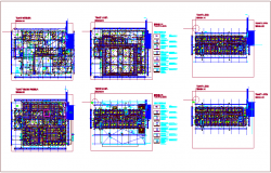 Floor plan of hospital plan dwg file