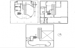 Autocad house plans with dimensions, residential building plans dwg