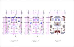 Floor plan of house dwg file