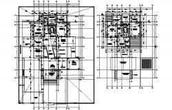 House Floor Plan In DWG File