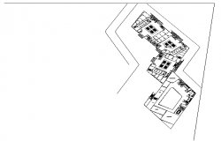 Floor plan of restaurant