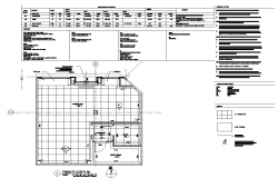 Flooring  layout plan  dwg file