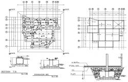 Footing Details DWG AutoCADDrawing