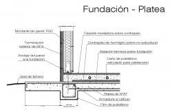 Footing design 2d CAD drawings dwg file