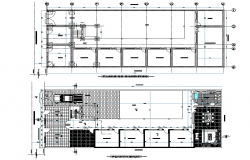 Foundation plan detail autocad file