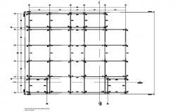 Foundation plan detail dwg file